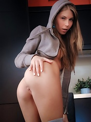 Nubiles.net Ebbi - Naughty amateur flaunts her perky tits and spreads her pussy lips
